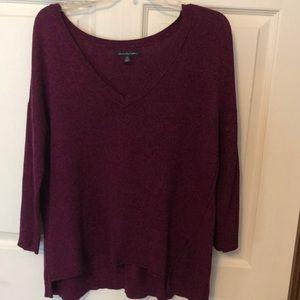 Purple sweater. Worn once or twice.